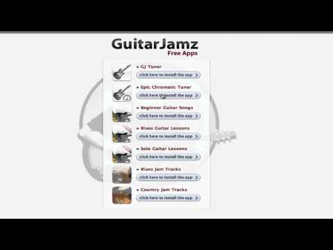 Free Iphone Ipad Guitar Apps Chromatic Tuner Blues Jamtracks Beginner Solo Country Lessons