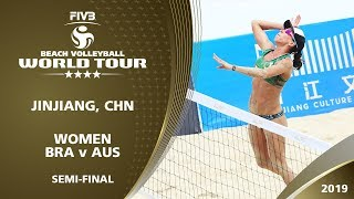 LIVE 🔴 - Women's Semi-Final 1 - FIVB Beach Volleyball World Tour - Jinjiang (CHN) - 4*