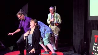 The art of improvisation | Rapid Fire Theatre | TEDxEdmonton