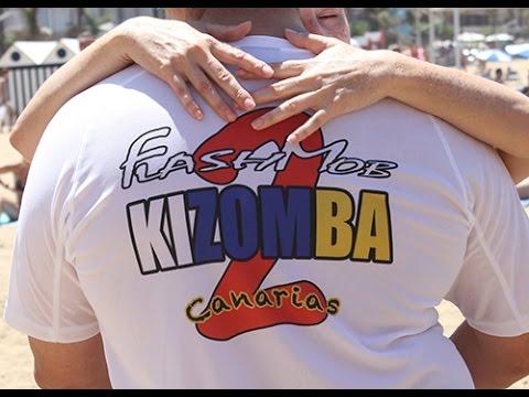 Flash Mob Kizomba 2014 (Video Oficial) Las Palmas de G.C.
