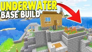 [LIVE🔴] Building Underwater Base in Minecraft - New Members Unlocks New Projects!