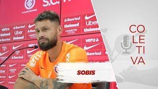 Antes do clássico Gre-Nal, Sobis concede entrevista