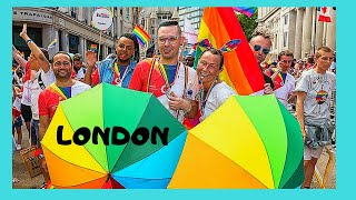 GAY PRIDE in LONDON, parade and FESTIVAL (London