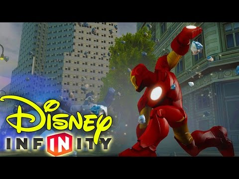 Disney Infinity 2.0  - IRONMAN VS VENOM!