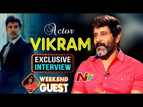 Chiyaan Vikram Exclusive Interview About Saamy 2 Movie | Weekend Guest | NTV