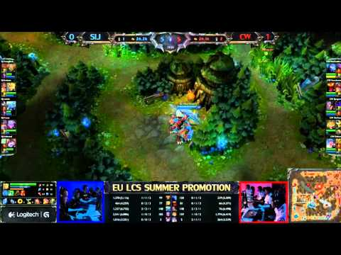 Copenhagen Wolves vs Samurai In Jeanse Game 2/4 LCS 2013 EU Summer Promotion Matches