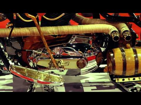 Ultimate Builder Custom Bike Show - IMS Daytona Beach, 2012