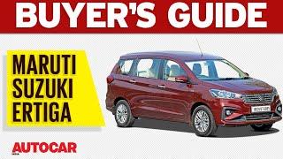 2018 Maruti Suzuki Ertiga l Which Variant to Buy l Buyer's Guide   Autocar India