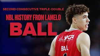 LaMelo Makes NBL History With Second Consecutive Triple-Double, First In League In 14 Years