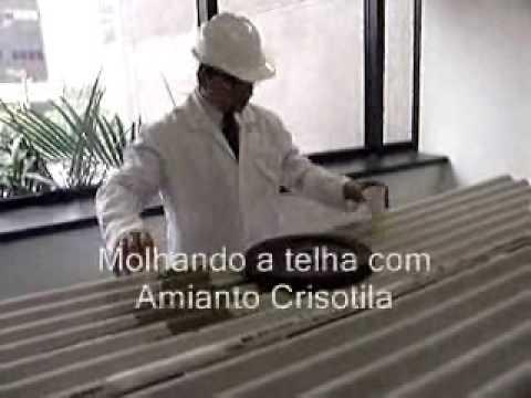 Peso de telha de amianto