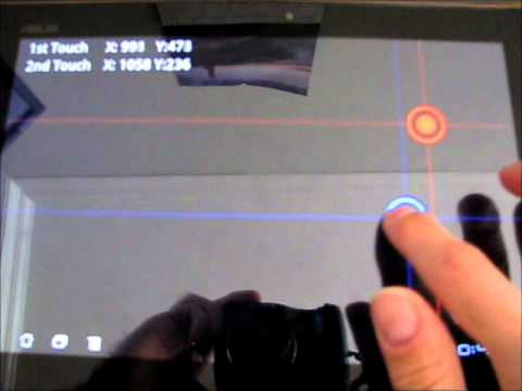 Asus Eee Pad Transformer Touch Screen Problem.wmv