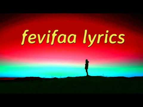 Fevifaa lyrics