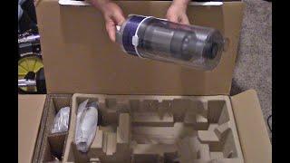 01. Samsung Jet Light VS70 Cordless Vac Unboxing and Setup