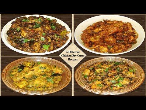 Chicken Recipes | Chicken Fry Curry Recipes | Special Desi Recipes