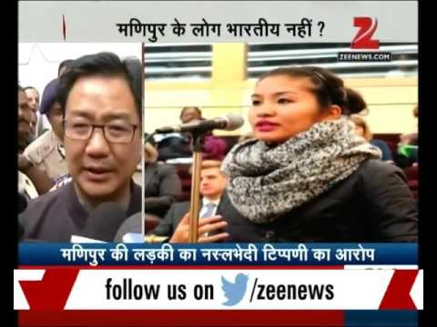 Monika from Manipur alleges IGI airport immigration staff for racism comment