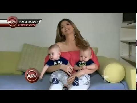 Maritza Rodriguez en ARV Presenta a sus mellizos.-06/09/14