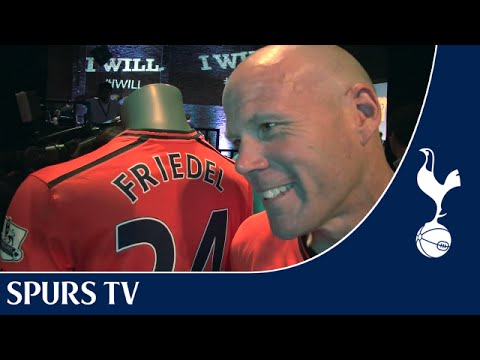 Brad Friedel at the 2013/2014 kit launch