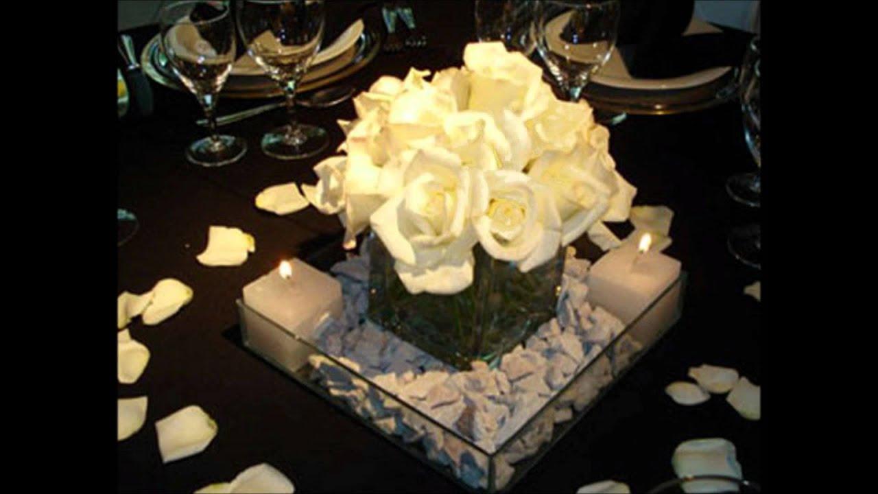 Centros de mesa para fiestas de 15 a os youtube for Decoracion de quinceanera