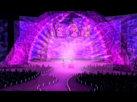 Barbie Princess and The Pop-Star - Here I Am ( Princesses wanna dance and sing) on Greek