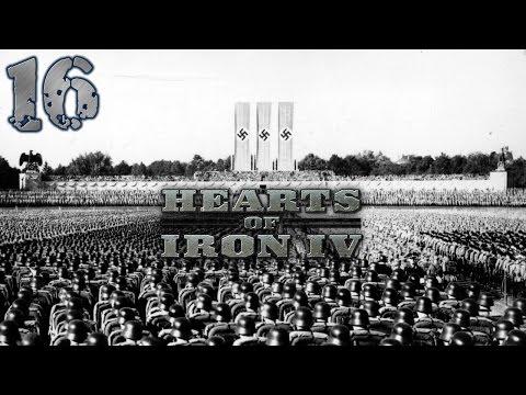 Hearts Of Iron IV - Rzesza Niemiecka #16 - Państwa Bałtyckie (Gameplay PL)