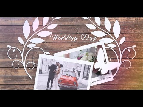WEDDING SLIDESHOW ► AFTER EFFECTS TEMPLATES