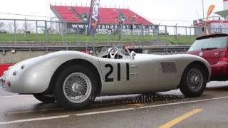 Track day in the Jaguar C type - Part 1