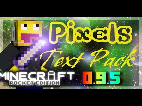 MCPE 0.9.5 Texture Pack Review Pixie Full of pixels :D