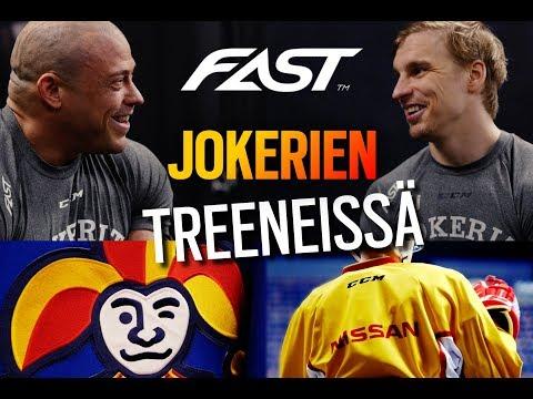 MUKANA JOKERIEN TREENEISSÄ - PELAAJIEN RAVITSEMUS KHL-KAUDELLA