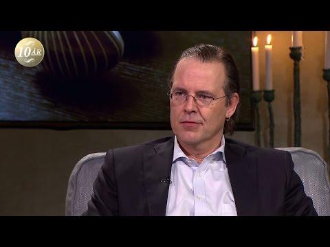 """Anders Borg: """"Jag är nykär"""" - Malou Efter tio (TV4)"""