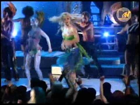 0 Britney Spears  I´m A Slave 4U (Glee Videoclip Version)