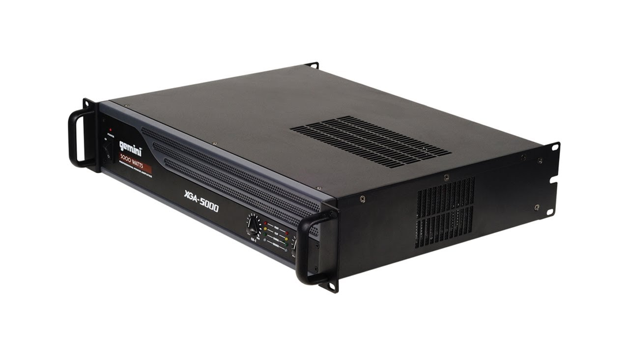 Power Amplifier 5000 Watt 5000 Watt Power Amplifier
