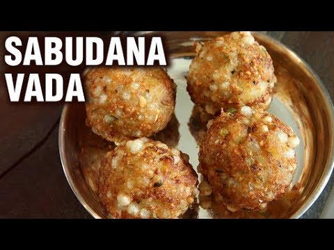 Sabudana Vada Recipe - How To Make Sabudana Vada With Green Chutney - Fasting/Upvas Recipe - Smita