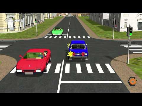 Проезд перекрёстков 2- часть