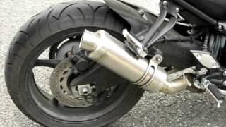 Yamaha FZ8 Storm Mivv GP Sound