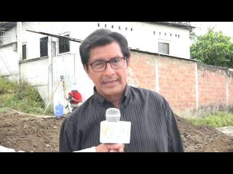 Microinformativo Yo Soy de Chone - Alcantarillado Cdla. Luis María Solórzano