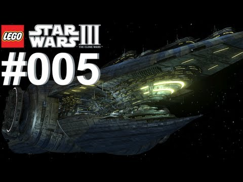 Let's Play LEGO Star Wars 3 The Clone Wars #005 Der Schatten der Malevolence [Together] [Deutsch]