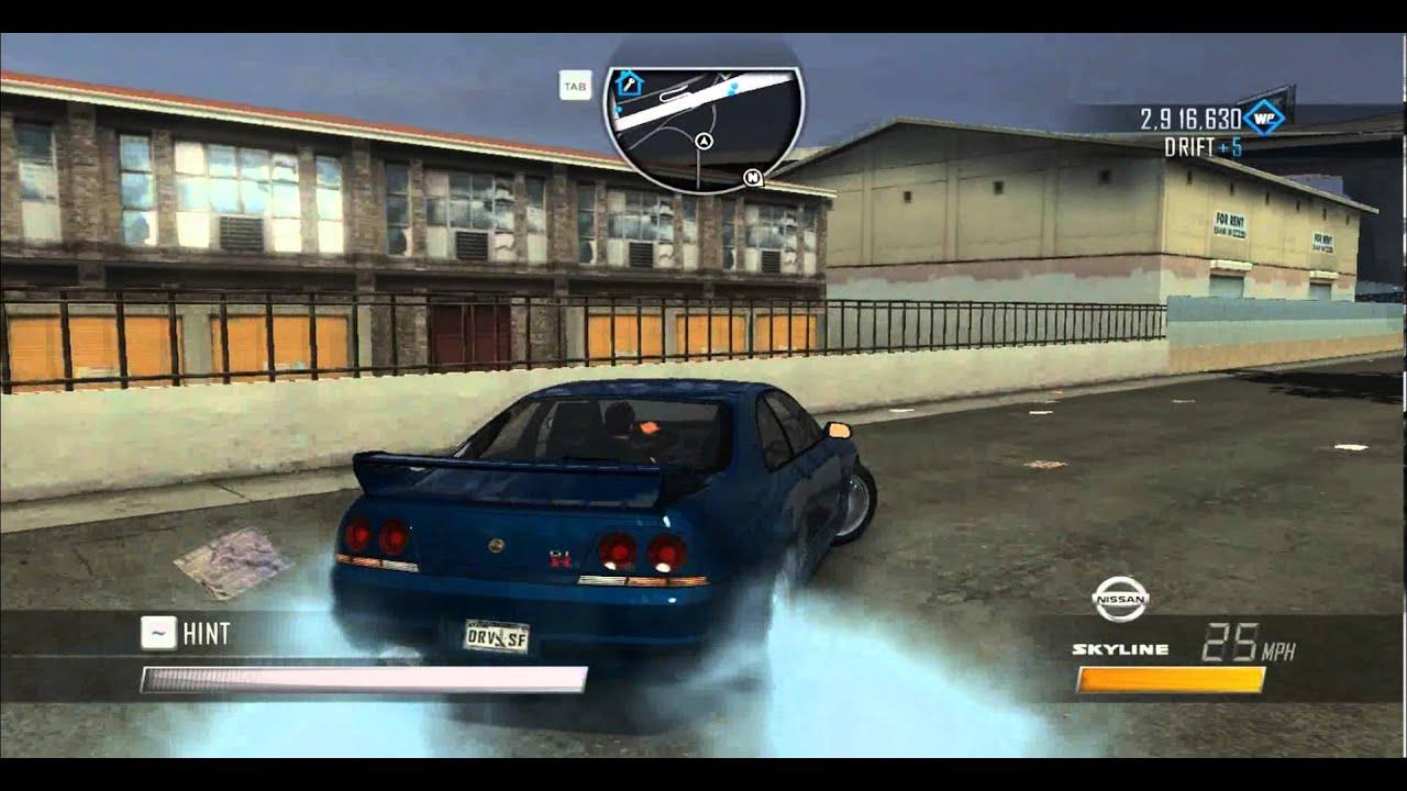 Driver San Francisco Nissan Skyline Gtr R33 Gameplay