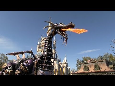 Full Festival of Fantasy Parade at Disney's Magic Kingdom - Debut