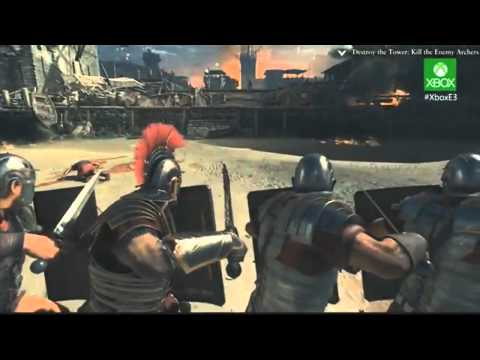 Ryse: Son of Rome - Gameplay Walkthrough E3 2013 Demo [HD] (Ryse Xbox One) E3M13