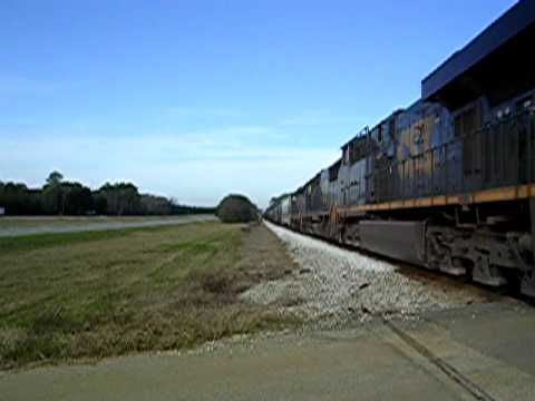 CSX Q681 at  Donalsonville, Ga