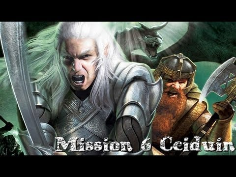 The Battle for Middle Earth 2- Good Campaign Mission 6- Ceiduin