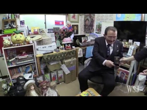 Japanese Professor Collects North Korean Everyday Objects