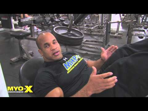 MYO-X Tip - Leg Press - Starring Victor Martinez Image 1