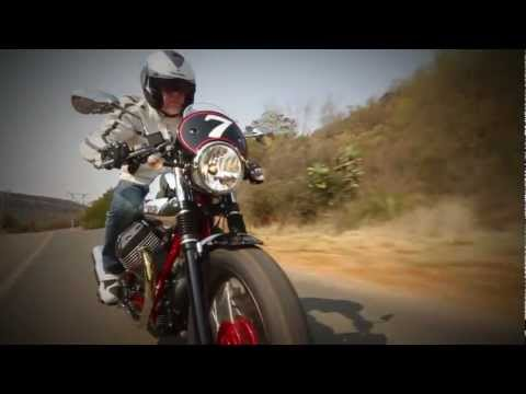 Italian Head to Head; MOTO GUZZI STELVIO NTX & V7 RACER TEST