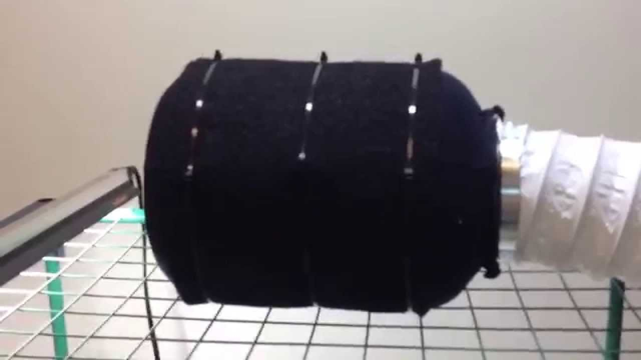 Make Your Own Carbon Filter Grow Room