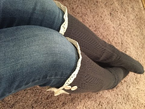 Sweetly Savvy Lace Boot Socks