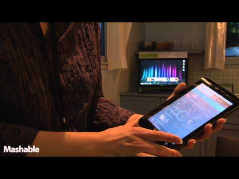 Dell Wireless Living Room and Streak 7 Demo