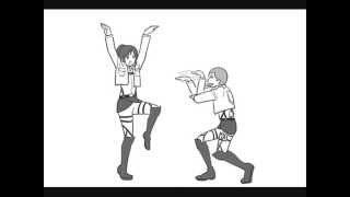 Sasha and Connie want Kung Fu Fighting