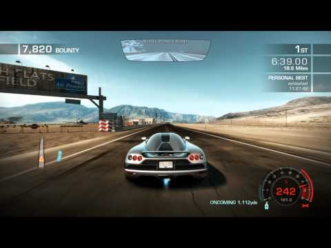 NFS Hot Pursuit 2010 Seacrest Tour World Record | 11:22.56 -...