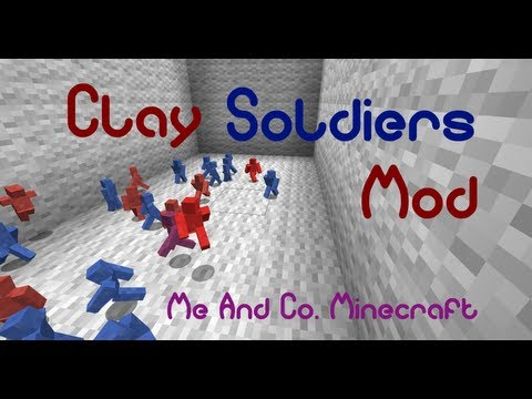 Minecraft: Mod Review - Clay Soldiers